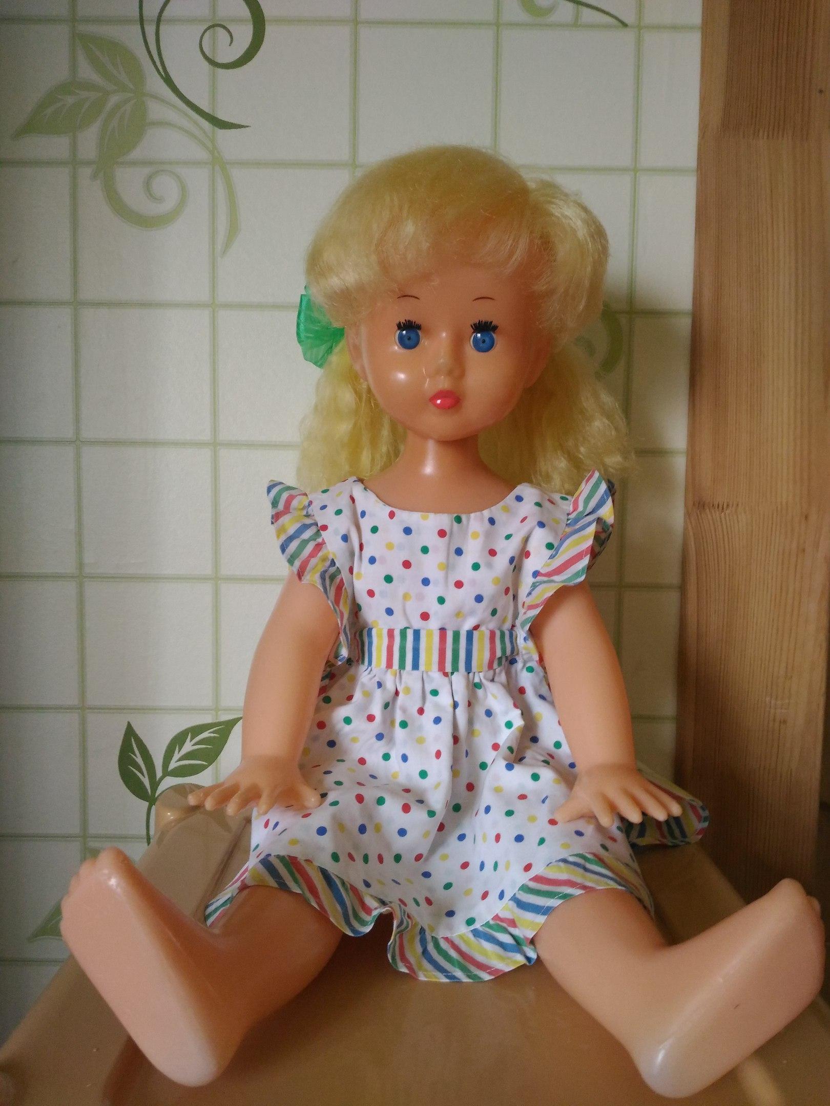 Реставрация советских кукол