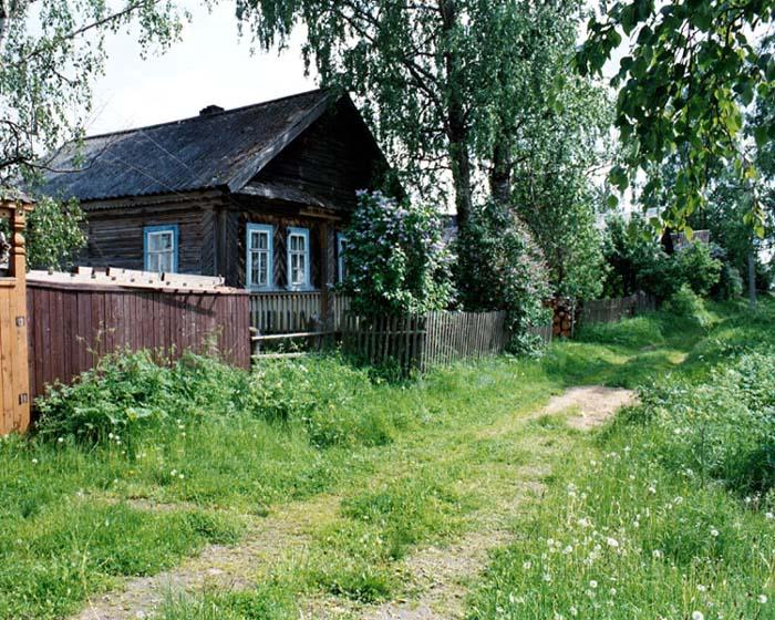 Красивый дом в селе фото
