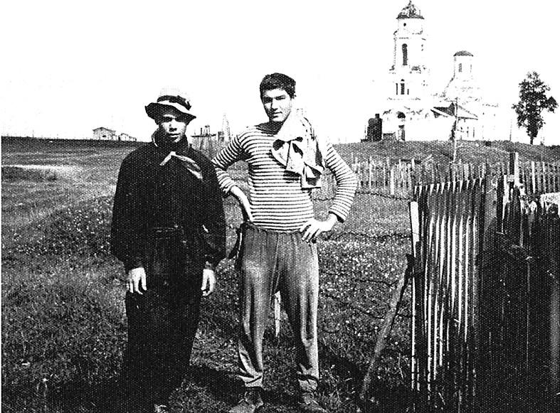 Волго Балт Шекснинская газета Звезда  Шексна 1962 Воспоминания московского физика